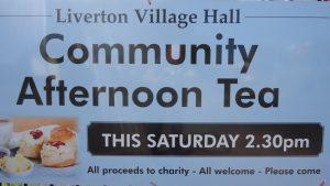 Liverton Village Hall Cream Teas